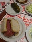 Smoked meat @ Schwartz's.